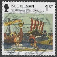 Isle of Man 2015 Tynwald Tapestry 1st type 2 self adhesive good/fine used